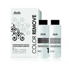 Смывка краски с волос 100+100 мл, Mirella Professional