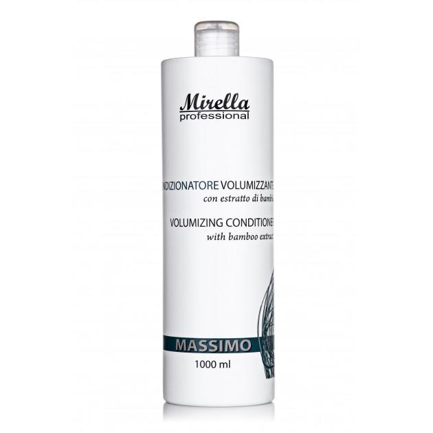 Кондиционер для объема волос 1000 мл, Mirella Professional Massimo Volumizing Conditioner