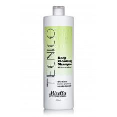 Шампунь глубокой очистки для волос с маслом авокадо 1000 мл, Mirella Professional