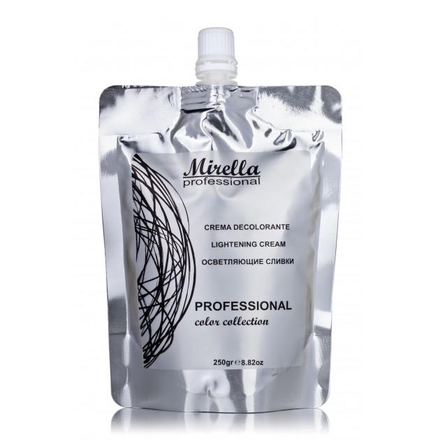 Осветляющие сливки для волос 250 мл, Mirella Professional Lightening Cream