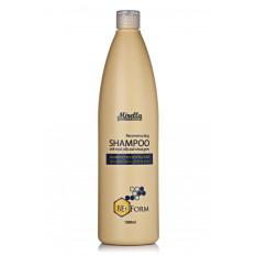 Восстанавливающий шампунь для поврежденных волос с маточным молочком 1000 мл, Mirella BeeForm