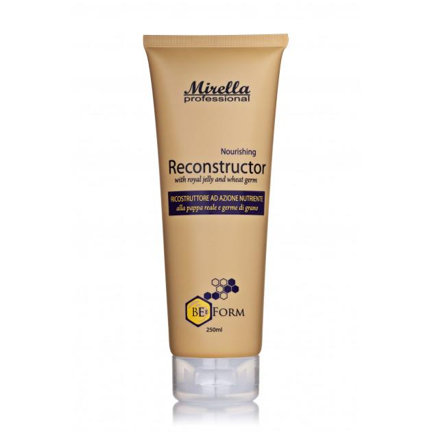 Восстанавливающий крем-кондиционер для поврежденных волос с маточным молочком 250 мл, Mirella BeeForm