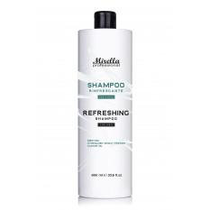 Шампунь для мужчин, с ментолом и касторовым маслом 1000 мл, Mirella Professional Shampoo