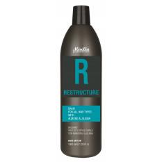 Бальзам для всех типов волос с миндальным маслом 1000 мл, Mirella Professional