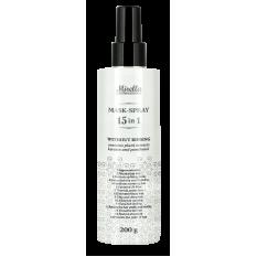 Маска-спрей для волос 15 в 1 200 мл, Mirella Professional