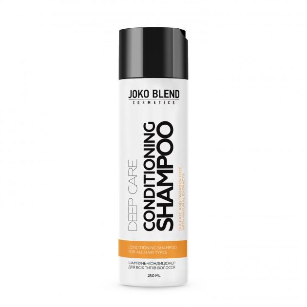 Безсульфатный шампунь-кондиционер для всех типов волос DeepCare250мл, Joko Blend