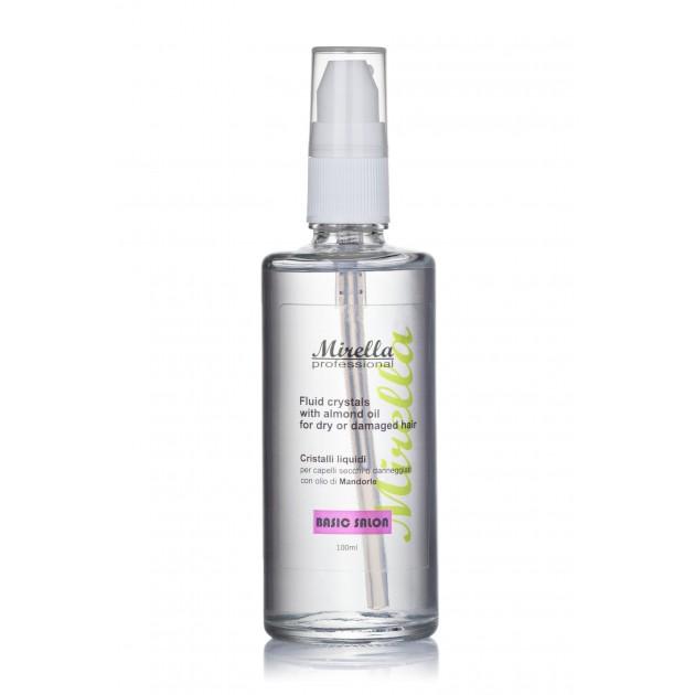 Флюид для волос с миндальным маслом 100 мл, Mirella Professional