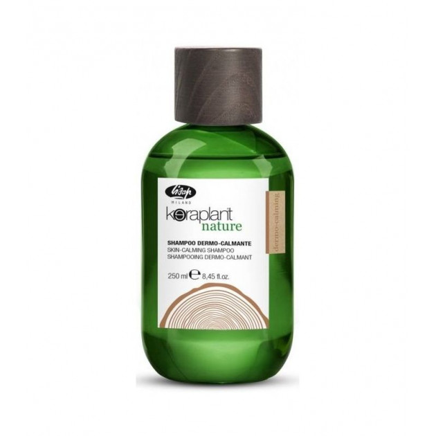 Успокаивающий шампунь для чувствительной кожи головы 250 мл Skin-calming shampoo Keraplant, Lisap