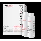 Смывка для удаления стойких красок 2*100 мл, Prosalon Color Peel Hair Remover