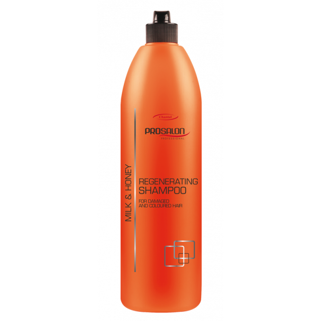 Шампунь регенерирующий с молоком и мёдом 1000 мл, Prosalon Hair Care Shampoo