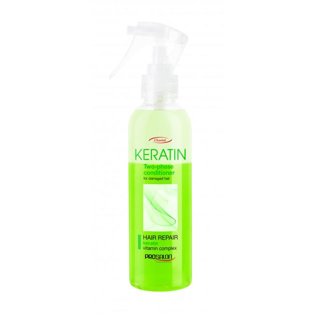 Двухфазный бальзам для волос с кератином 200 мл, Prosalon
