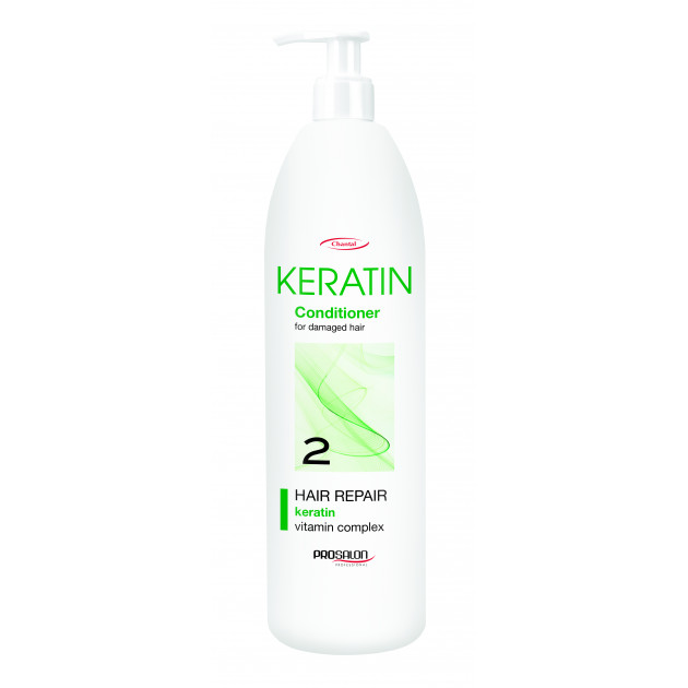 Бальзам для волос с кератином 1000 мл, Prosalon