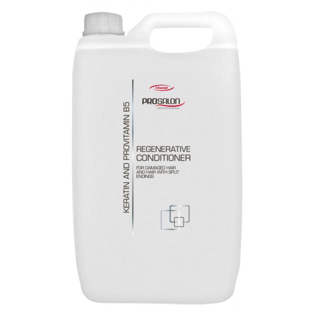 Бальзам для волос с кератином + провитамином В-5 5000 мл, Prosalon Conditioner With Keratin +Pro Vit. B5
