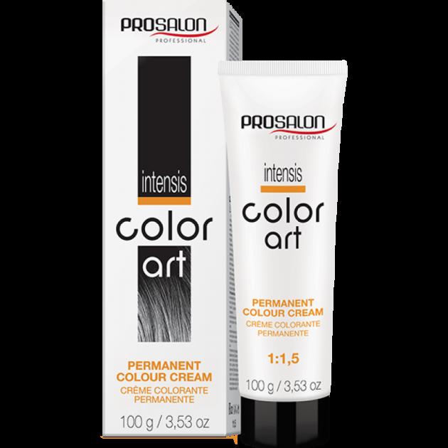 Краска для волос 5/2 фиолетовый баклажан, 100 гр, Prosalon Color Art
