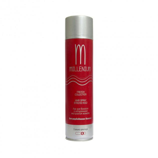 Лак для волос сильной фиксации с экстрактом жожоба Millenium Hair Spray 250 мл