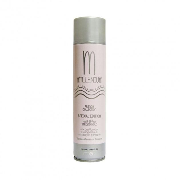 Лак для волос сильной фиксации с экстрактом ромашки Millenium Hair Spray 250 мл