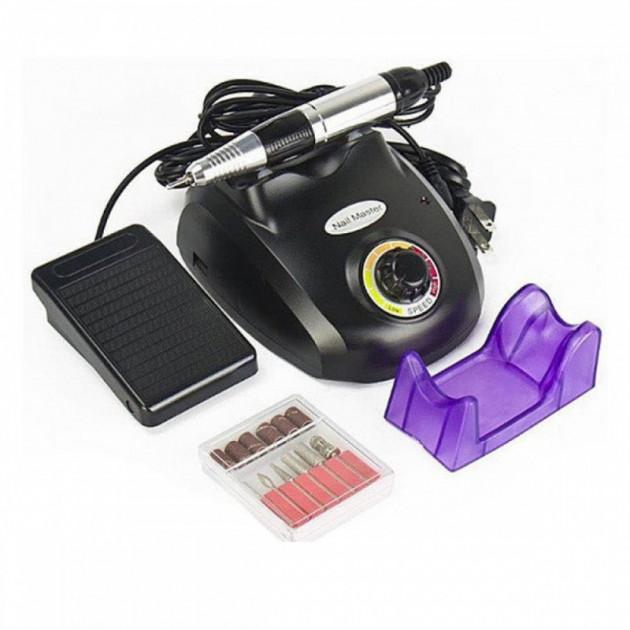 Фрезер для маникюра Nail Drill ZS-603 PRO Black на 45 Вт./35000 оборотов